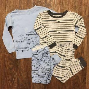 Bundle of 2 Baby Gap 3T boys pajamas